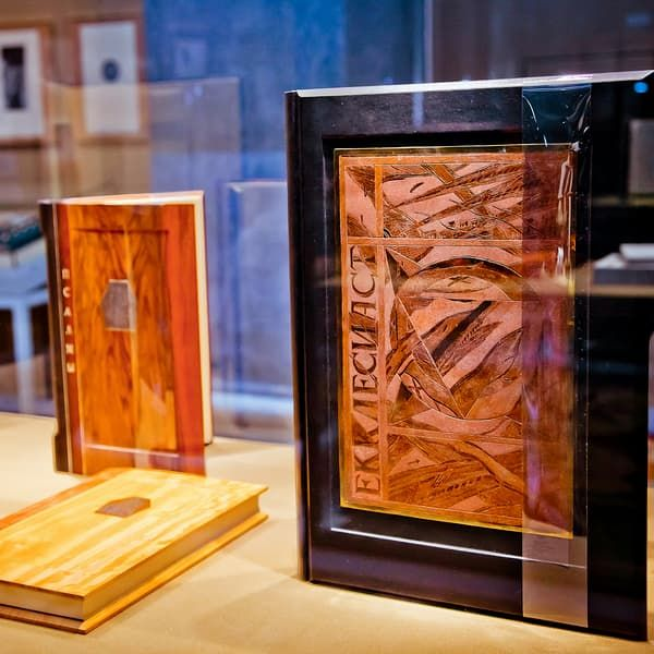 Exhibition: The Art of the Hand-Made Book